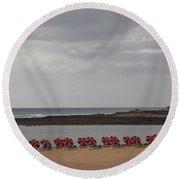 Fuerteventura Round Beach Towel
