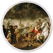 George Washington (1732-1799) Round Beach Towel