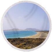 Graciosa Island Round Beach Towel