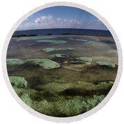 Grand Bahama Island Round Beach Towel