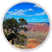 Grand Canyon - South Rim Round Beach Towel