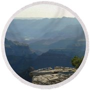 Grand Canyon South Round Beach Towel