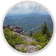 Grayson Highlands Round Beach Towel