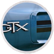 Gtx  Round Beach Towel