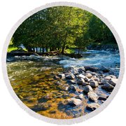 Gull River Round Beach Towel