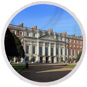 Hampton Court Palace England Round Beach Towel
