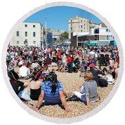 Hastings Pirate Day Round Beach Towel