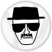 Heisenberg Breaking Bad Round Beach Towel