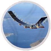 Helios Prototype, Solar-electric Round Beach Towel
