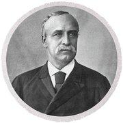 Henry Villard (1835-1900) Round Beach Towel