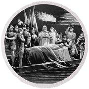 Hernando De Soto (c1500-1542) Round Beach Towel