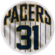 Indiana Pacers Uniform Round Beach Towel