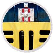 International Grille Emblem Round Beach Towel