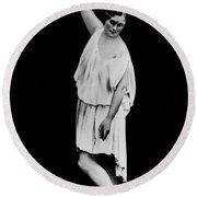 Isadora Duncan (1877-1927) Round Beach Towel