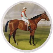 Isinglass Winner Of The 1893 Derby Round Beach Towel