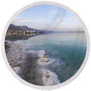 Israel Dead Sea Round Beach Towel