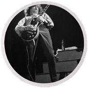 Jimmy Page Round Beach Towel