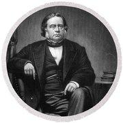 John Bright (1811-1889) Round Beach Towel