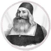 John Clark (1598-1664) Round Beach Towel