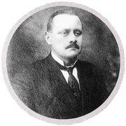 John Flammang Schrank (1876-1943) Round Beach Towel