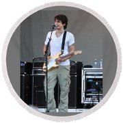John Mayer  Taste Of Chicago Round Beach Towel