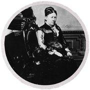 Julia Dent Grant (1826-1902) Round Beach Towel