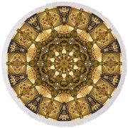 Kaleidoscope 45 Round Beach Towel