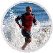 Kelly Slater World Surfing Champion Copy Round Beach Towel