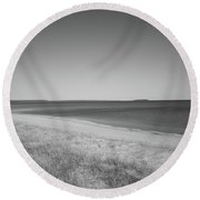 Lake Superior Round Beach Towel
