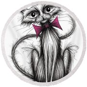 Little Fluffy Round Beach Towel