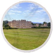 Longleat House - Wiltshire Round Beach Towel