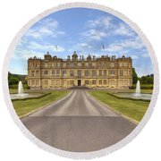 Longleat House  Wiltshire Round Beach Towel