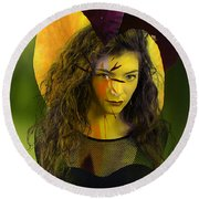 Lorde Original Round Beach Towel