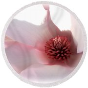Magnolia Center Round Beach Towel