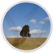 Manassas National Battlefield Park Round Beach Towel