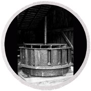 Mill Wheel Round Beach Towel