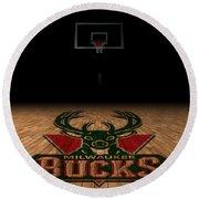 Milwaukee Bucks Round Beach Towel