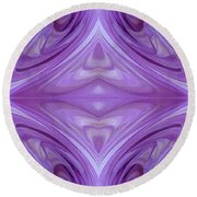 Mingus Randy Abstract Round Beach Towel