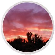 Mohave Color Round Beach Towel