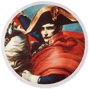 Napoleon Bonaparte (1769-1821) Round Beach Towel