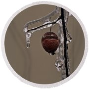 Nature's Candy Apple Round Beach Towel