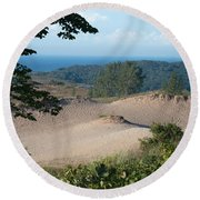Nature's Canvas Round Beach Towel