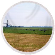 Nederlands Round Beach Towel