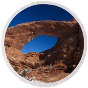 North Window Arches National Park Utah Round Beach Towel