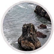 Oregon Round Beach Towel