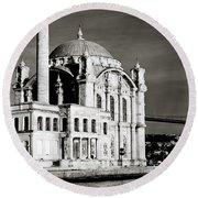 Ortakoy Round Beach Towel