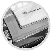 Packard Taillight Round Beach Towel