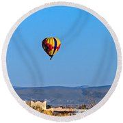 Peaceful Morning Round Beach Towel