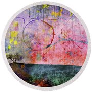 Perceptions Round Beach Towel