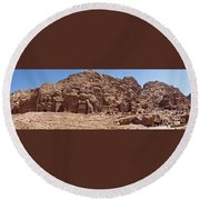 Petra Round Beach Towel